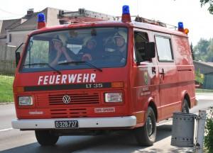Feuerwehrauto Hausruck